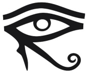 The Left Eye of Ra (also called the Lunar Eye corresponds to intuition, spiritual sight -  hence insight and the right hemisphere of the brain. Associated with the KAMTA perspective.)