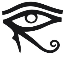 The Left Eye of Ra (also called the Lunar Eye corresponds to intuition and spiritual sight, hence insight.)