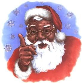 black-santa-claus