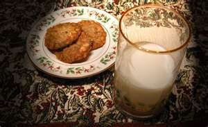 milk&cookies for Santa