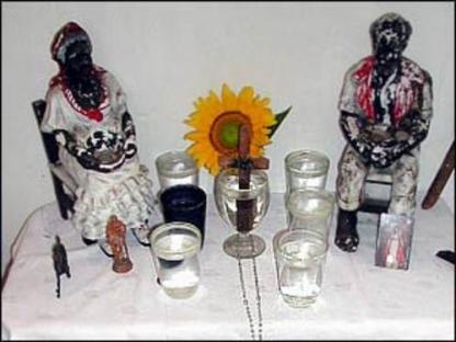 Afro-diaspora ancestral altar