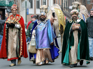 Los Reyes de Dia (3 Kings Day)