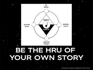 Be the Hru of Your Own Story
