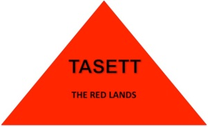 TASETT - The Red Lands. Literally also known as the desert region of Lower Kamit in the northernmost part of the country. Metaphorically, it symbolizes our Lower Self - represented by the red Deshret crown of Kamit.