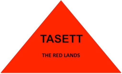 TASETT - The Red Lands. Literally also known as the desert region of Lower Kamit or Egypt. Metaphorically, it symbolizes our Lower Self.