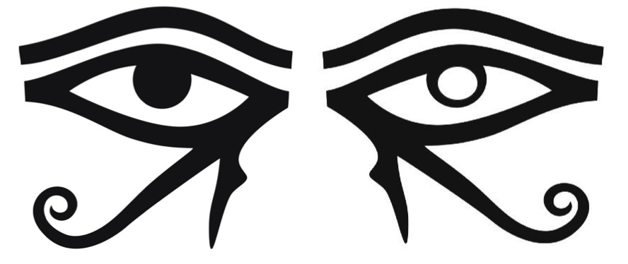 eyes of ra and horus