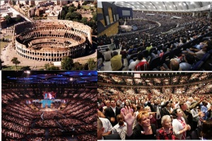 Coliseums & Mega Churches