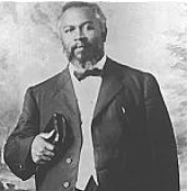 William J. Seymour, son of former slave and leader of the Azusa Street Revival