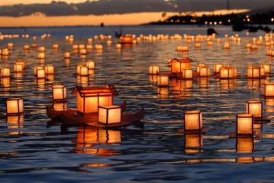 Buddhist Obon Festival to honor the dead