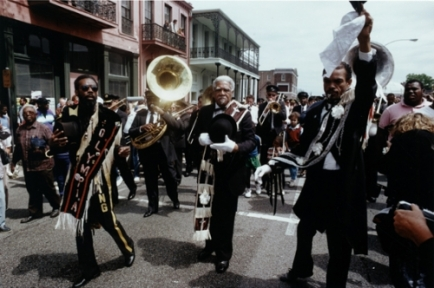 Second Line aka Jazz Funerals in New Orleans. http://www.knowla.org/entry/860/&view=image-gallery