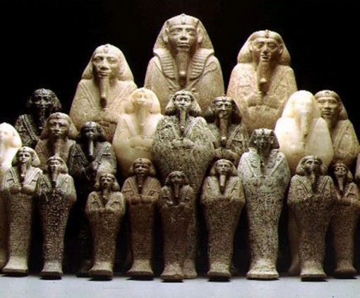 Kamitic Statues