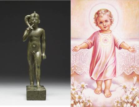 HrupaKhart or the Child Hru and the Infant Jesus
