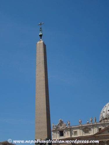 Obelisk in the Vatican