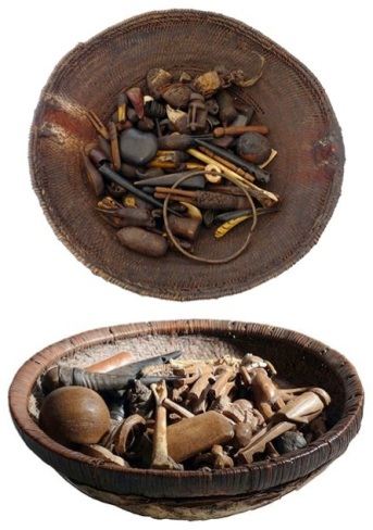 Angolan Divination Basket