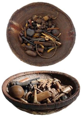 Angolan Divination Basket