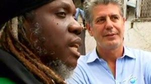 Mutabaruka, featured on the 2008 Jamaica episode of Anthony Bourdain: No Reservations