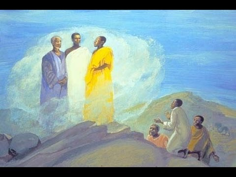 Image result for jesus talks to moses and elijah