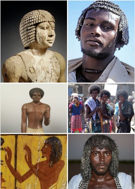hairstyles of africans and kemetic people