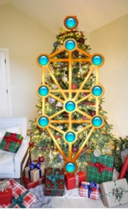 tree of life christmas tree