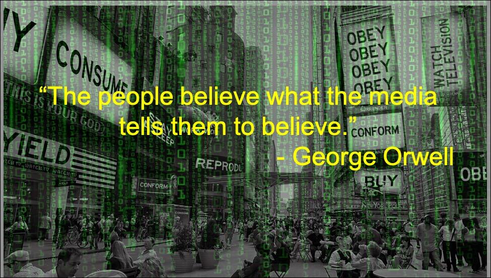 people believe the media